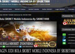 Agen Judi Bola SBOBET Mobile Indonesia By SBOBET888