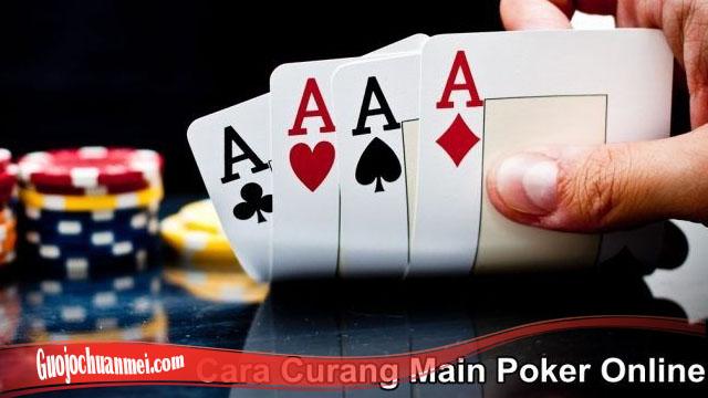 Ketahui Kecurangan Dalam Poker Online